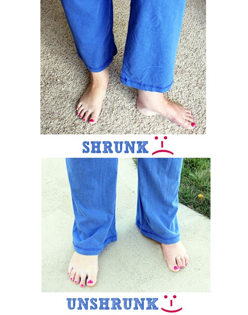 http://www.thetoddanderinfavoritefive.com/how-to-un-shrink-clothes/